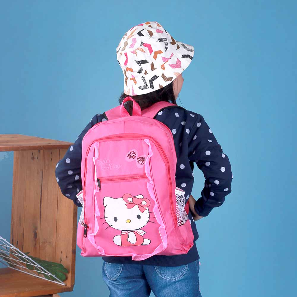 Tas Back Pack Anak Perempuan Hello Kitty 2in1 BR 307