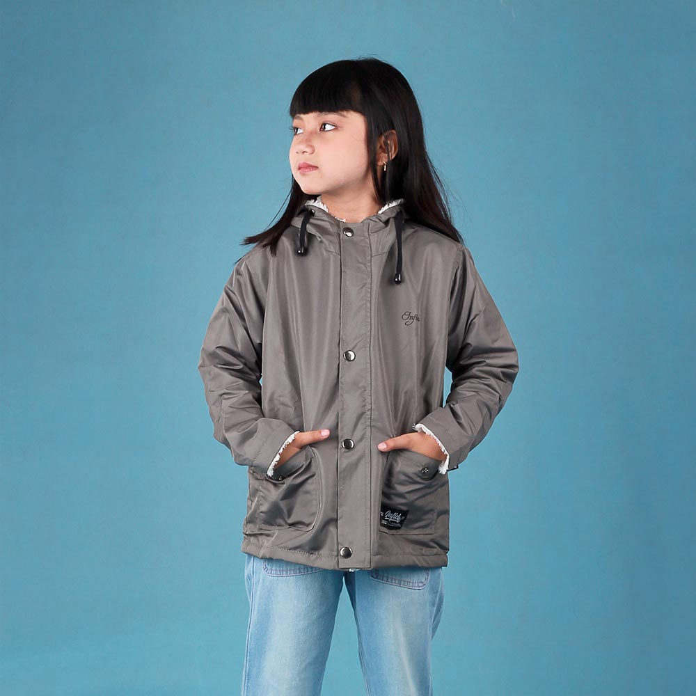 Jaket Hoodie Anak Perempuan SMD INF 346