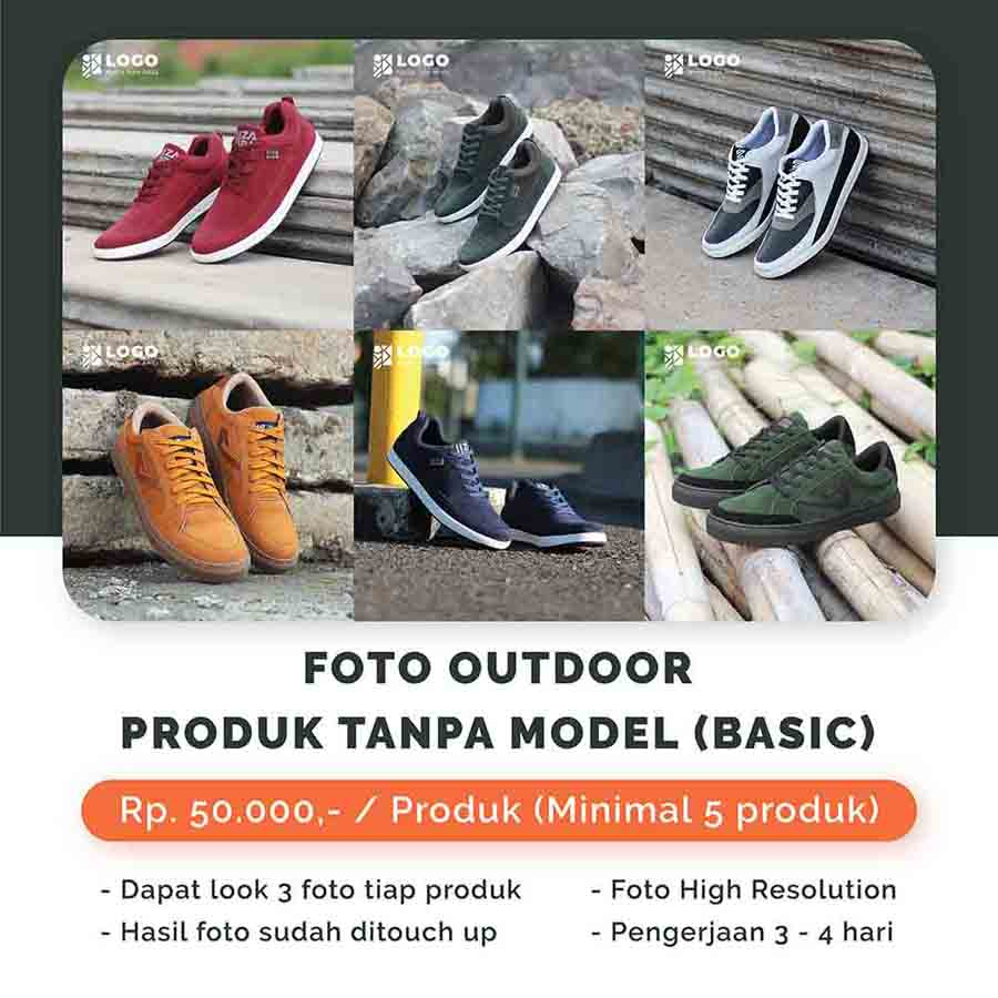 Foto Outdoor Produk Tanpa Model - Basic